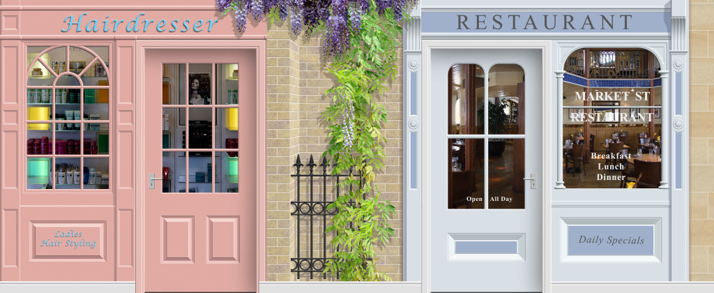 Care Home Murals - Shops Picture A