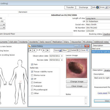 caresys screenshot