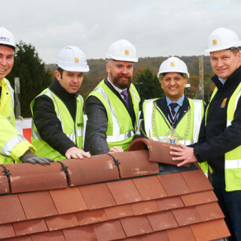 Care UK Kingston Vale topping out