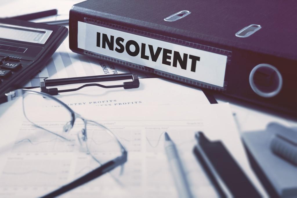 Insolvency shutterstock
