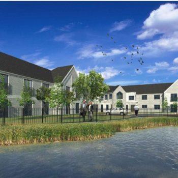 CGI of Stepcare S Cerney care home scheme