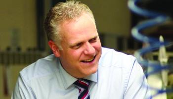 Stephen Broadhurst Managing Director of Mitre Linen
