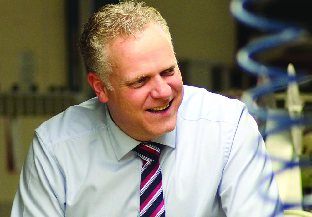 Stephen Broadhurst Managing Director of Mitre Linen