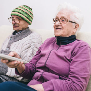 care home television