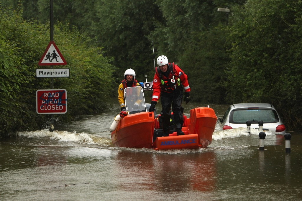 Flooding Across The Country Reaches A Critical Level