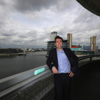 Andy Burnham Launches His Bid To Become Mayor Of Manchester