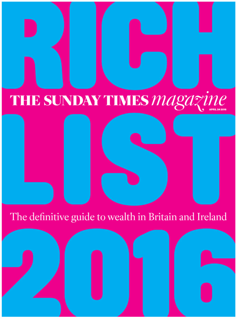 sunday times rich list 2016 full