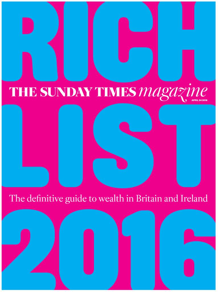 sunday times rich list 2016 full