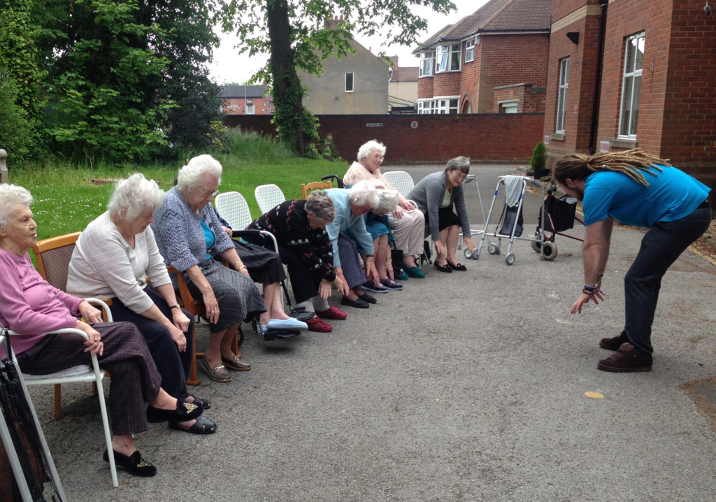 Attleborough Grange, another Outstanding home, priorities activities and play for residents.