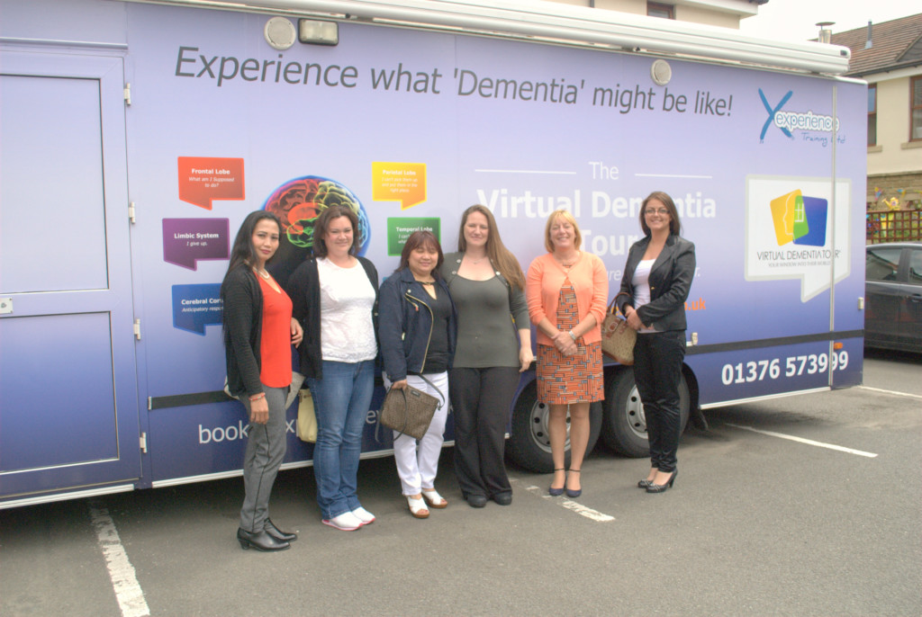 Birchwood Grange Dementia Tour Bus image