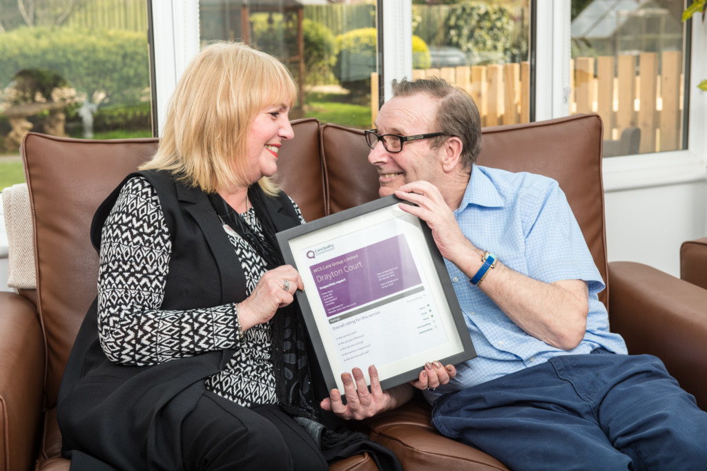 Care home manager Shirley Randall from Drayton