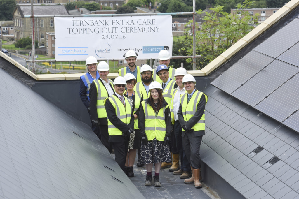 Bingley Topping Out – 3