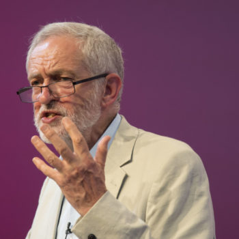 Jeremy Corbyn And Owen Smith Take Part In The First Labour Leadership Debate