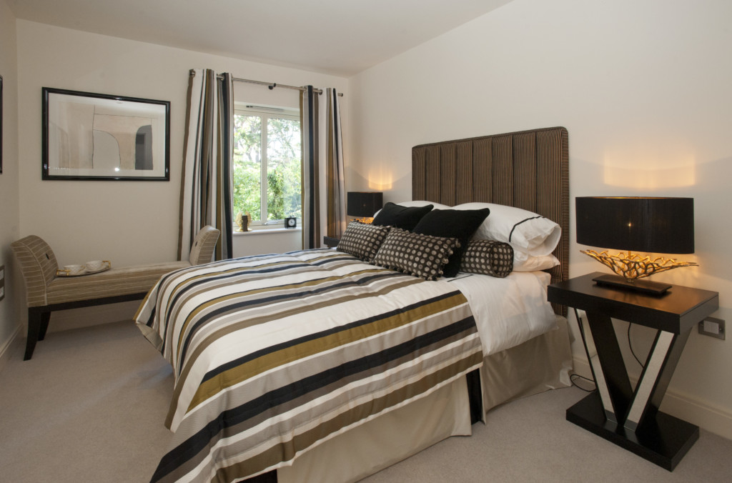 Anchor Bishopstoke Park The show apartment Pic: Chris Balcombe 07568 098176