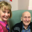 St Budeaux pupil Sophie with Freshfields resident
