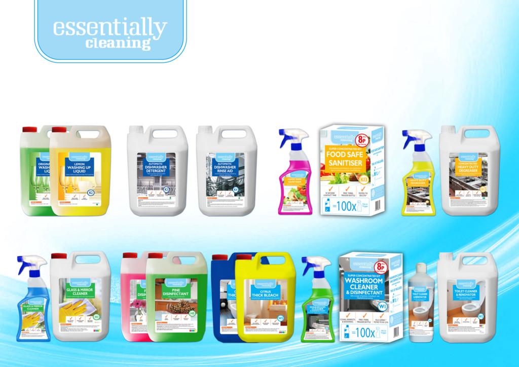 Bestway Essentially Cleaning Range (2)