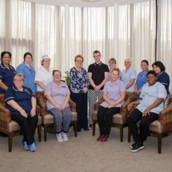 Deeside Care Home Team Photo