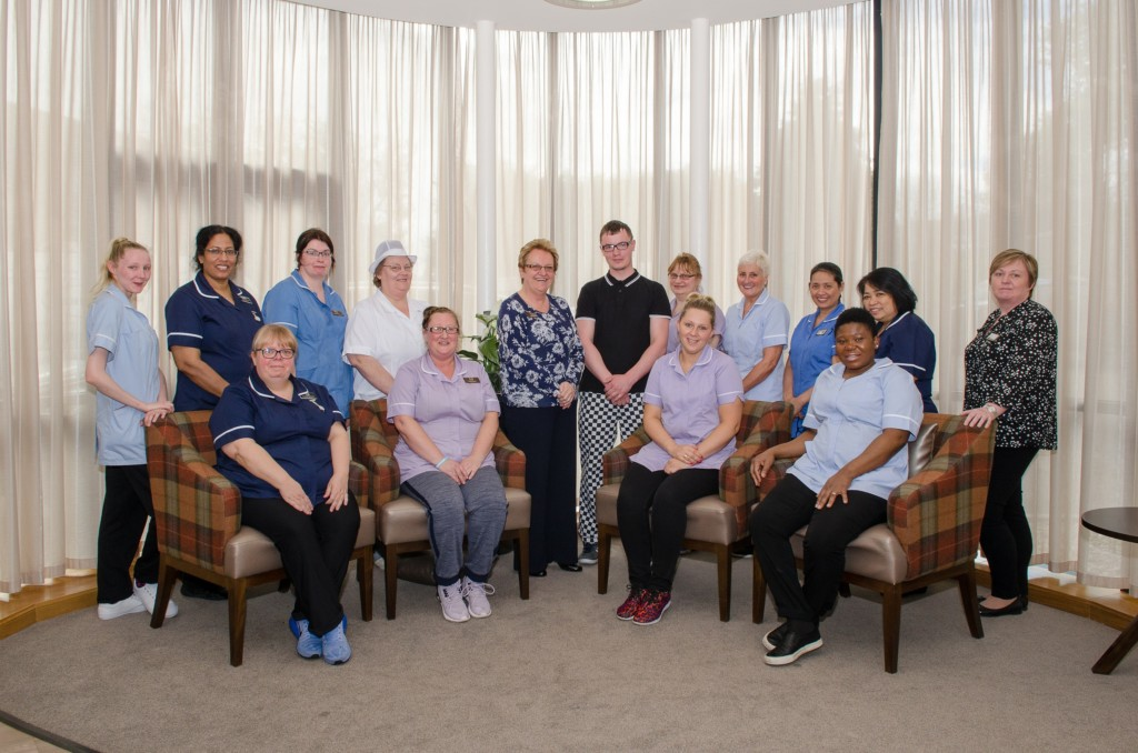 Deeside Care Home Team Photo