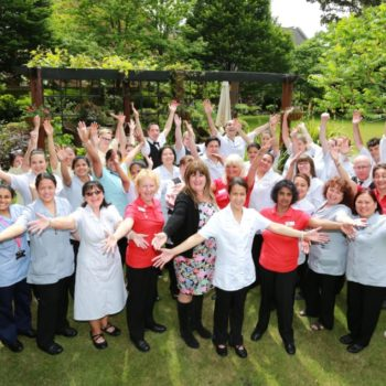 Health experts give thumbs-up to care home provider