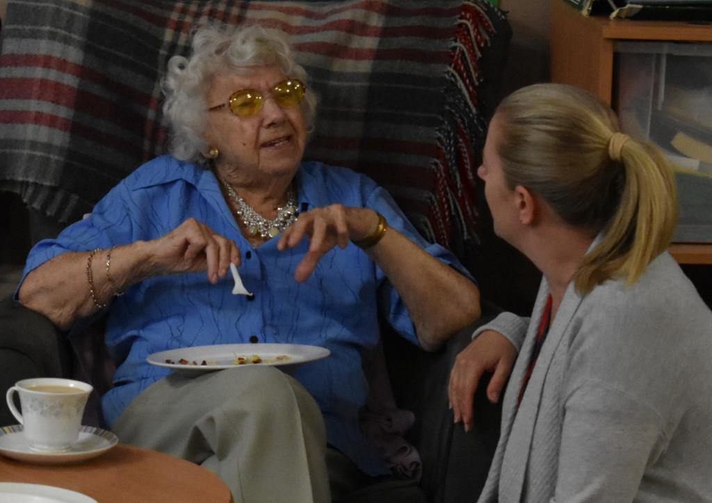 Greenacres – residents food tasting