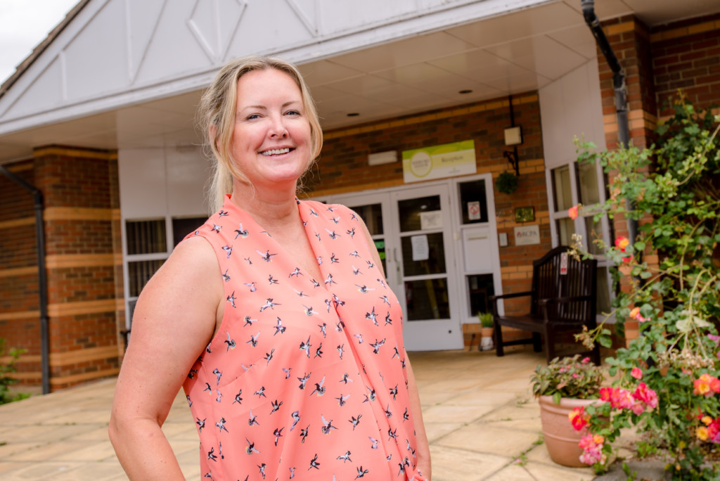 Sherford Manor Manager Manager Katrina Bell.