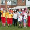 Image 2 – Staff at Westall house dressed up for their Alice in Wonderland themed event as part of the Reading Friends (2)