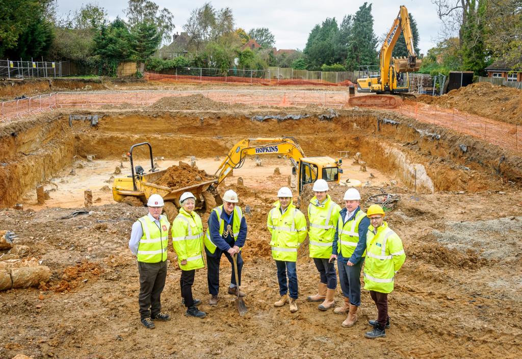 Banstead New Development Site –  Hallmark Care Homes.