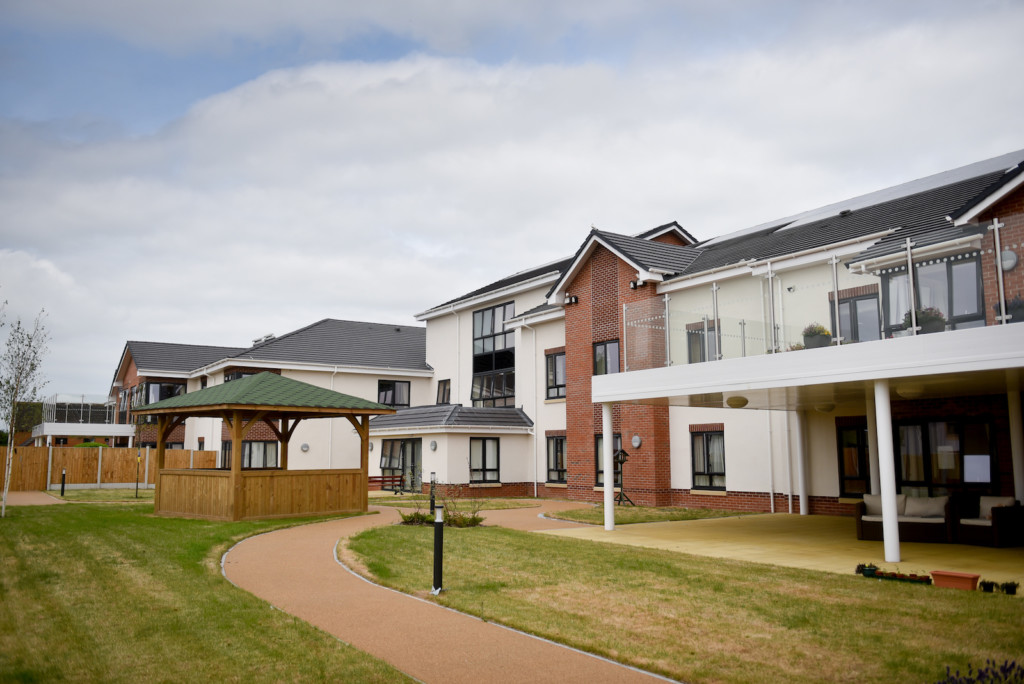 Montgomery House in Shrewsbury will open its final unit in January