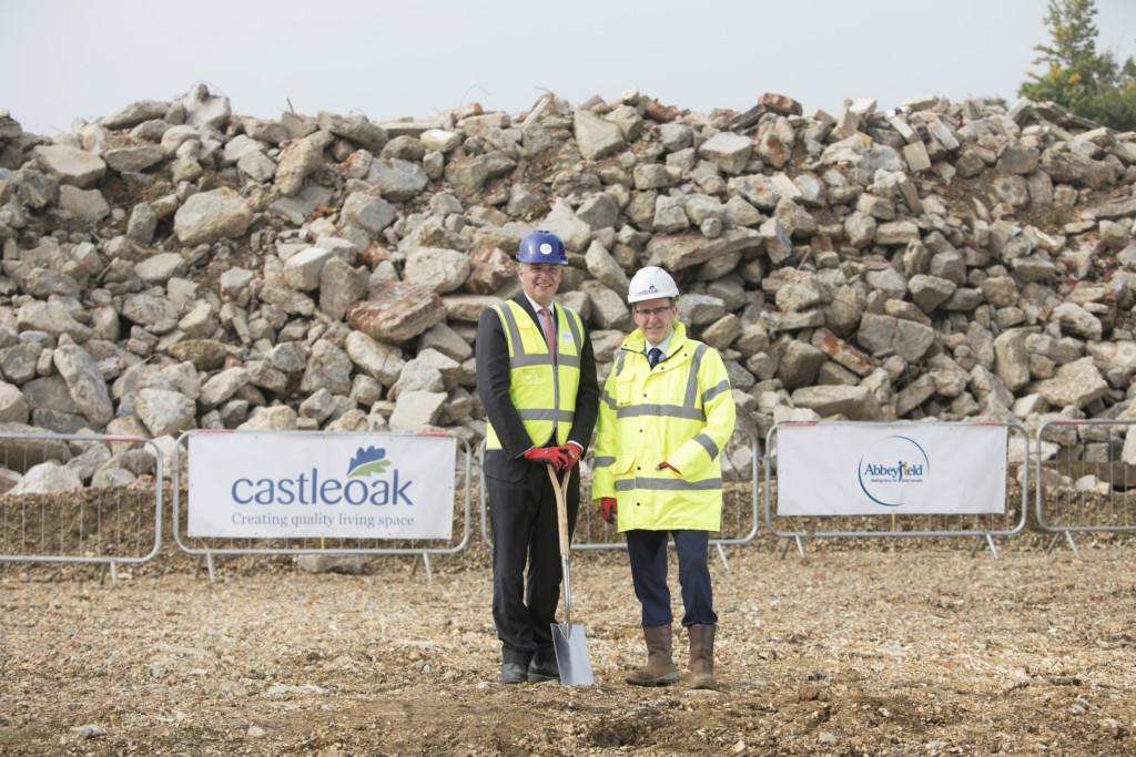 Castleoak-Abbeyfield_start on site
