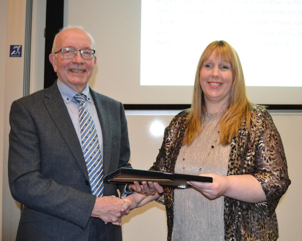 Sue Pembrey Award Win