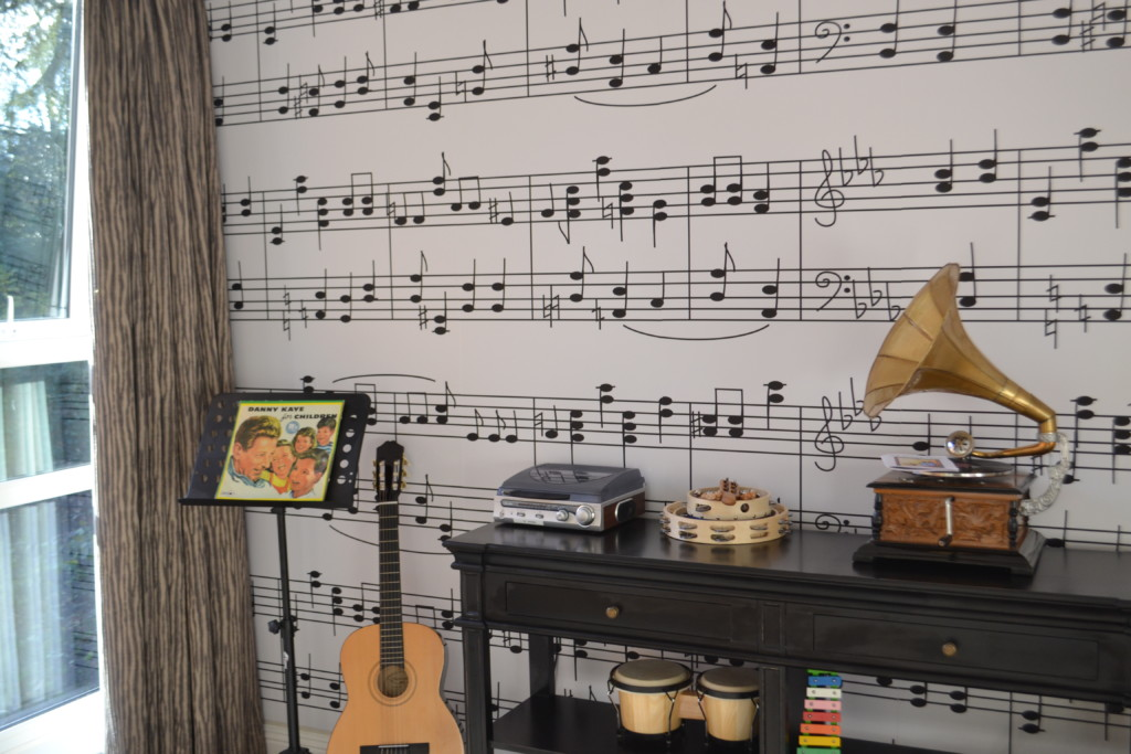 Chilterns Court's themed music room