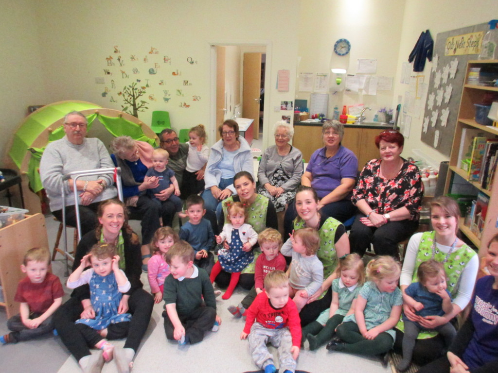 Residents from Tamarix Lodge visiting School House Nursery