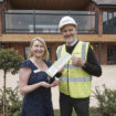 Construction company McGoffs hand over the keys to newly build care home.._