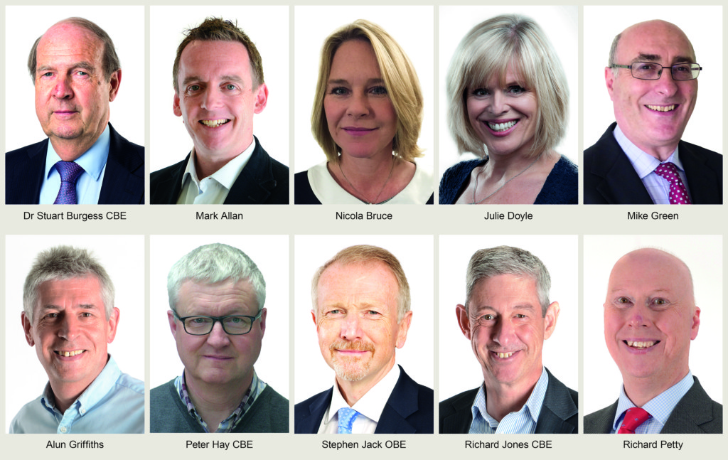 Montage pic of Board of Non-Executive Directors with names