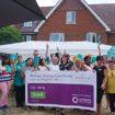 Rothsay Grange celebrating GOOD CQC- photo credit to Andover Advertiser