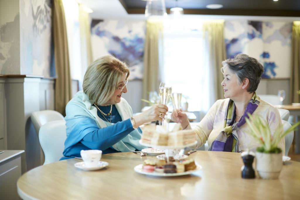 LifeCare Residences – The Albert Suites – Refurbishment – Afternoon Tea (01)
