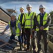 Figbury Lodge topping out