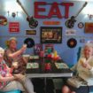 Reason to celebrate – residents in Mill View's 1950s diner