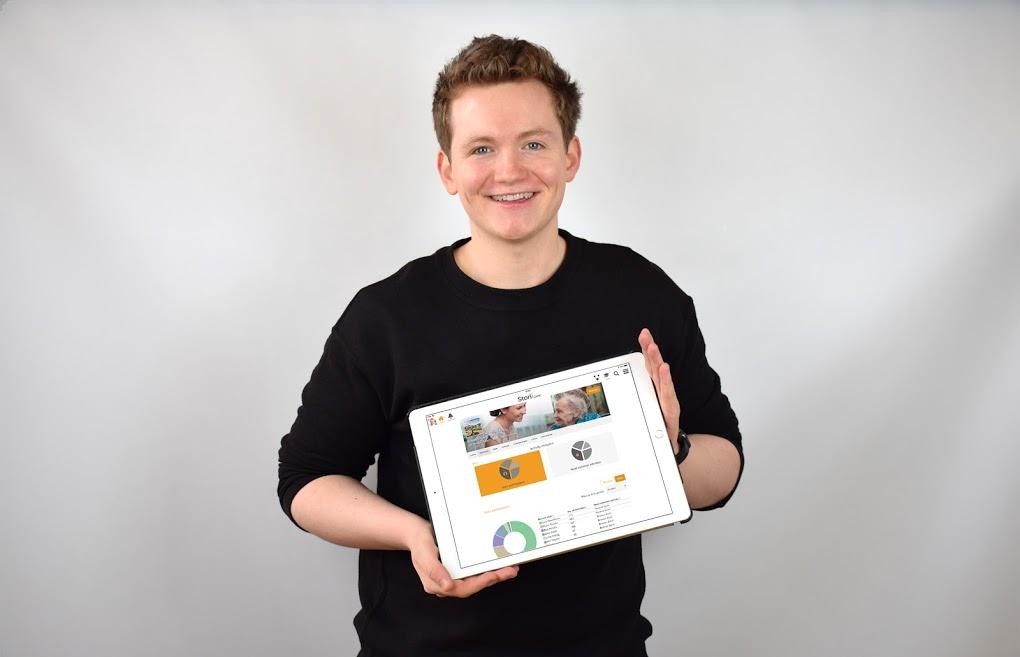 Cameron Graham StoriiCare iPad Analytics