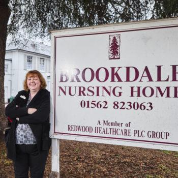 Jackie Huckvale at Brookdale Nursing Home