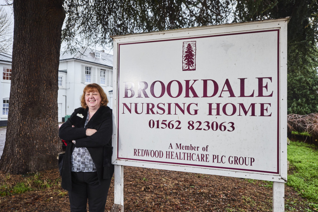 Jackie Huckvale at Brookdale Nursing Home
