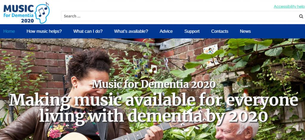 Music for dementia