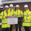 2 Flitwick topping out