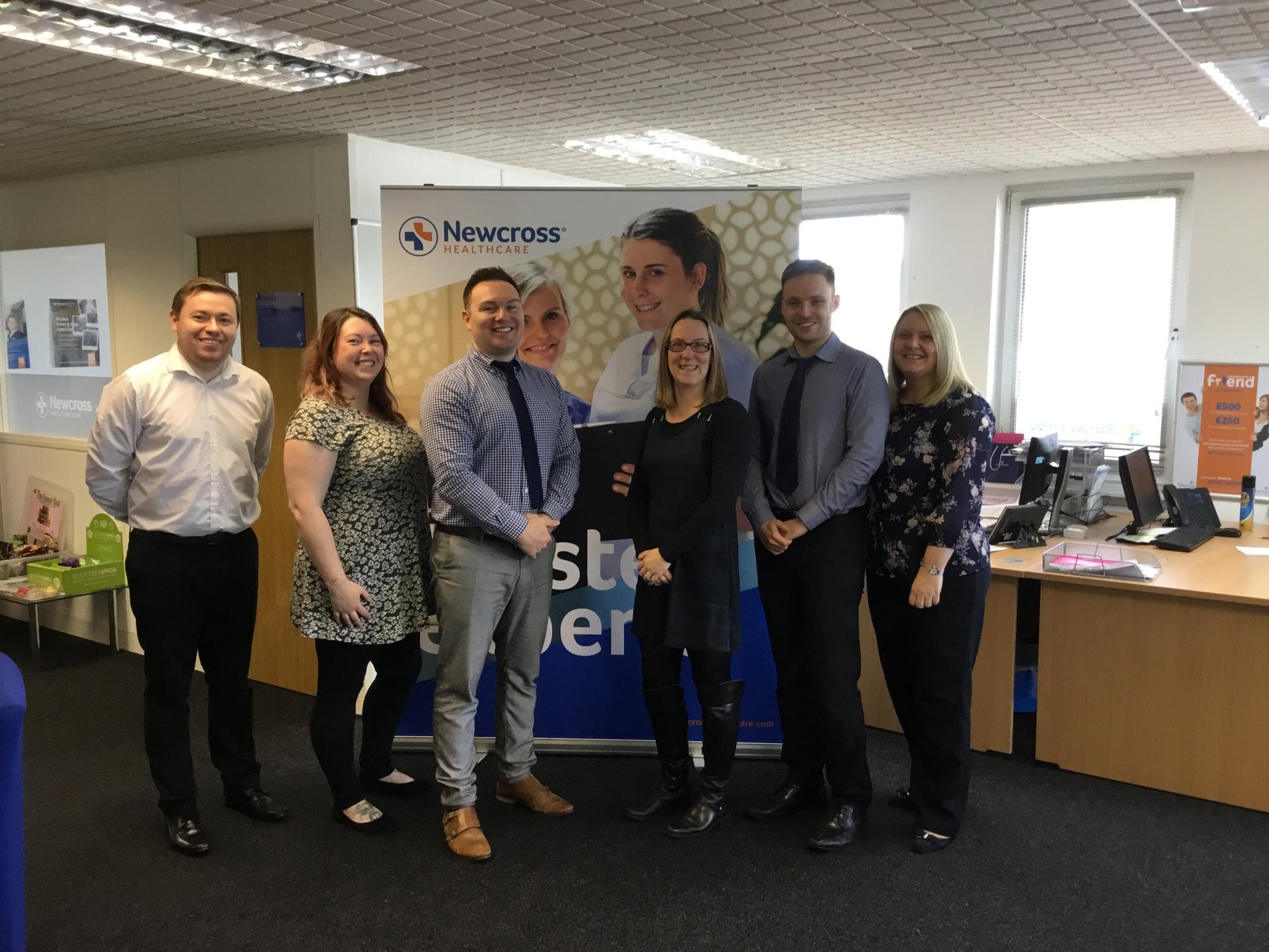 Team Photo – Super Hub in Hamilton Scotland