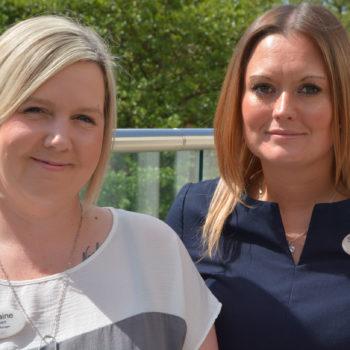 Woodside Care Village – Samantha and Lorraine