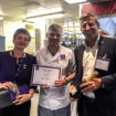 Jane Ashcroft Chef of the Year winner Connor Sacker and Rob Martin