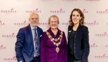 David Taylor (Oakdale), Mayor of Poole and Rachel Dryden (CEO of Encore) (2)