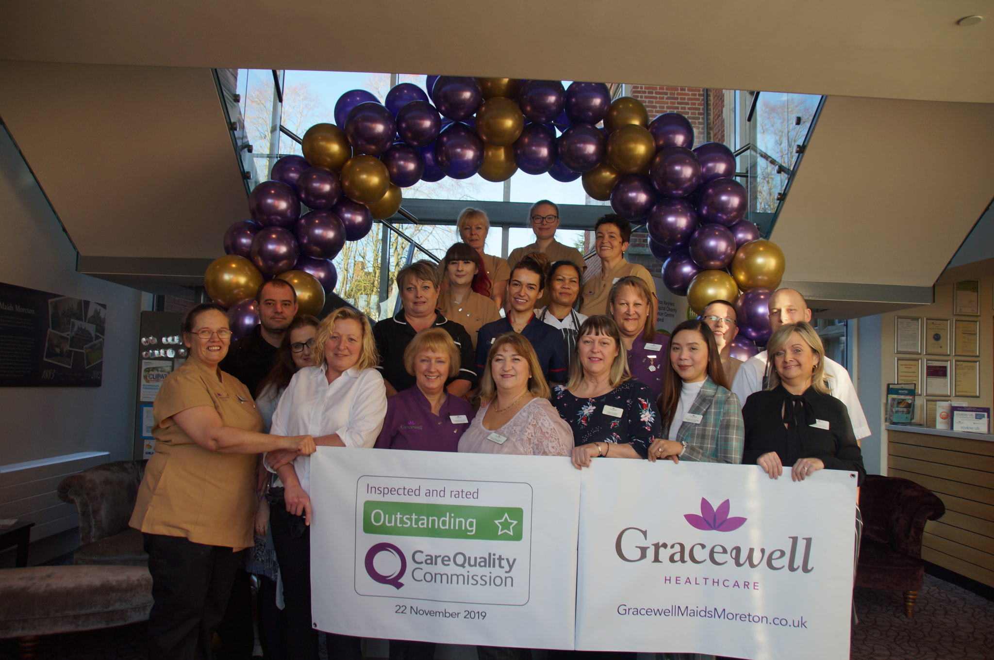 Gracewell of Maids Moreton – Outstanding CQC