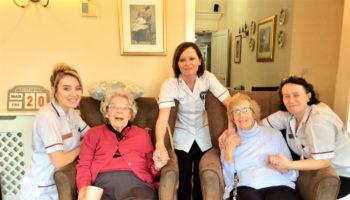 Oldbury Grange residents and care staff (002)