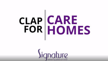 Clap for care homes